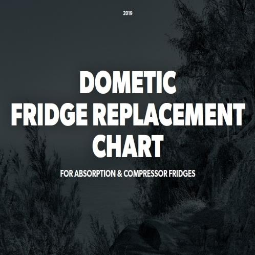 Fridge Replacement Chart Leisure Spares
