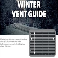 WINTER VENT GUIDE (Dometic)